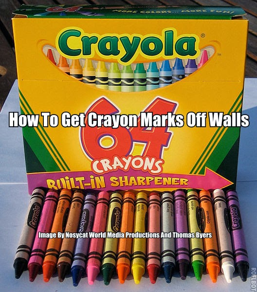 worlds best recipes how to get crayon marks off walls. Black Bedroom Furniture Sets. Home Design Ideas