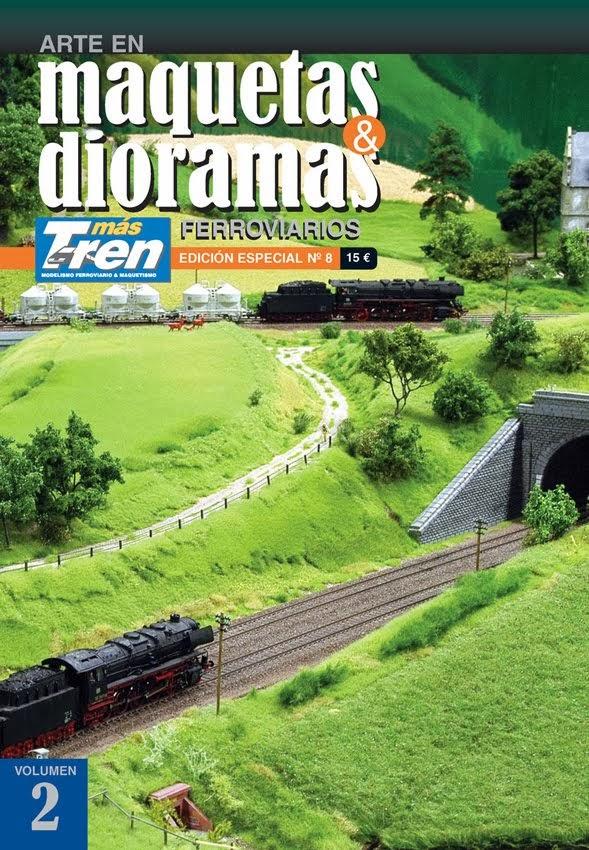 """""""Un módulo paso a paso""""Especial nº 8 Maquetas & Dioramas Ferroviarios - Vol. 2. Más Tren. (2013)."""