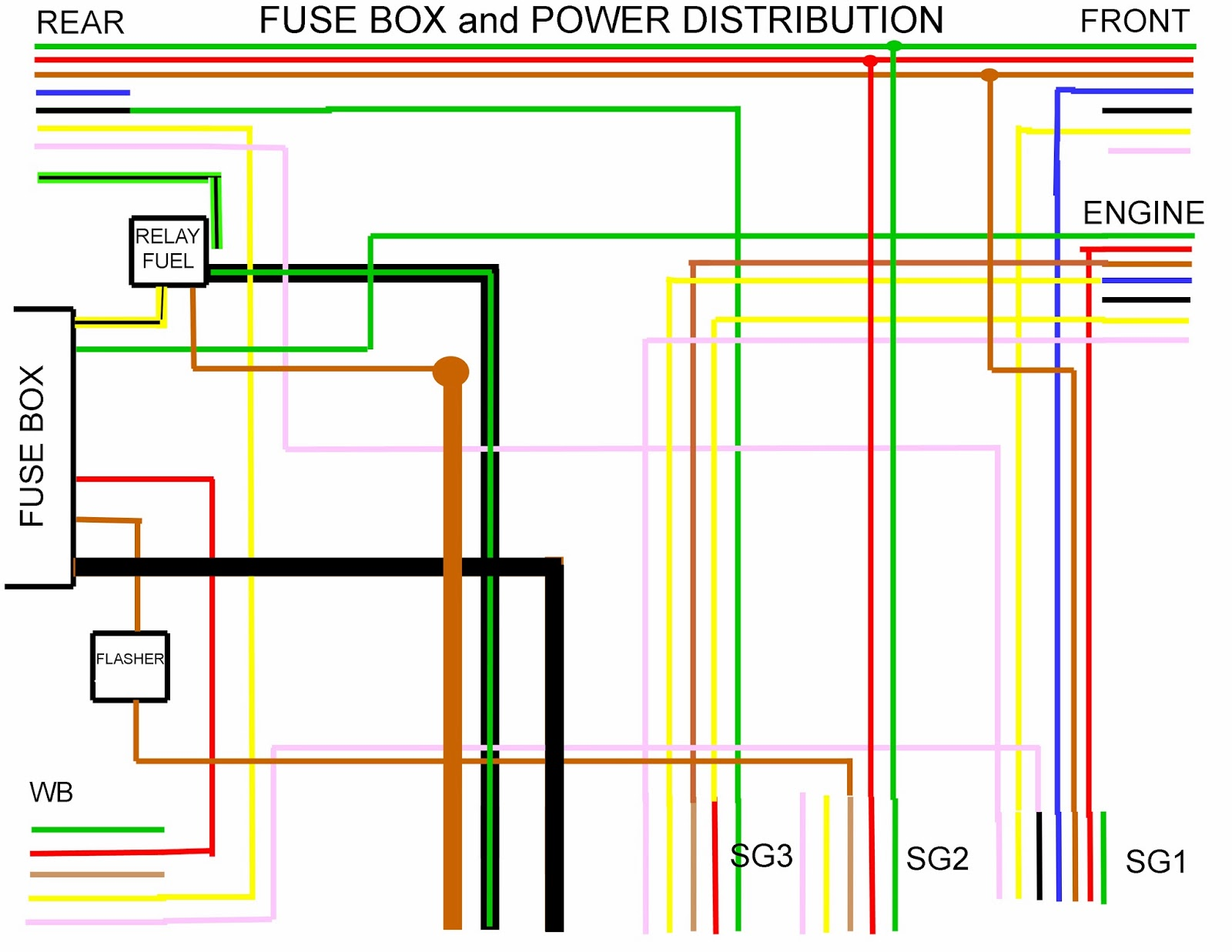 interesting porsche 924 fuse box layout pictures