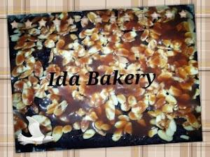 Tempahan Brownies salted karamel RM45