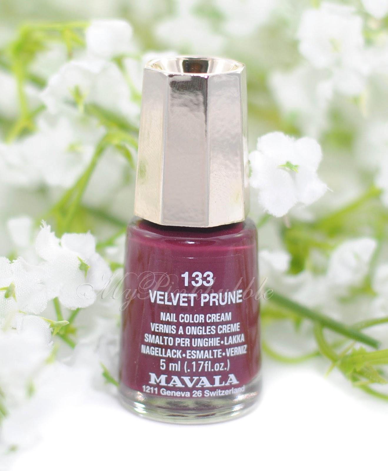 Mavala 133 Velvet Prune
