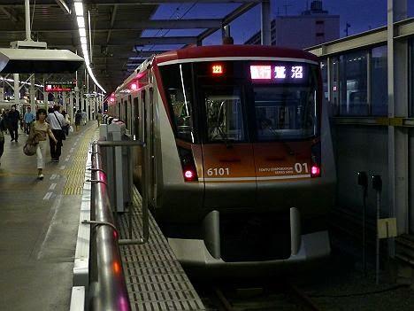 東京急行電鉄大井町線 急行 鷺沼行き 6000系