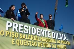 Polícia Militar causa polêmica com pedido de aumento salarial.