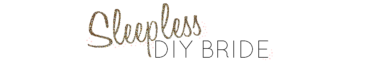 Sleepless in DIY Bride Country