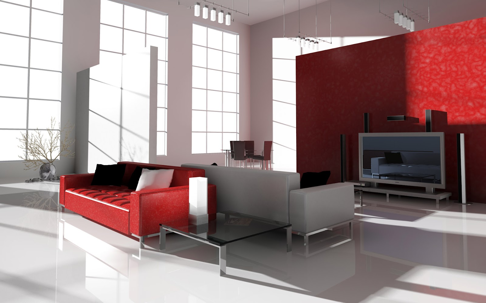 Living room red color combination - Home Improvement Ideas Awesome Painting Ideas For Living Rooms Living Room Red