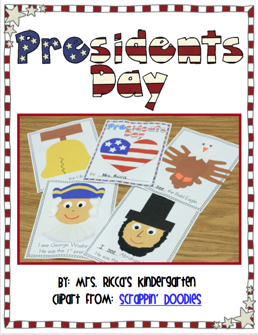 http://www.teacherspayteachers.com/Product/Presidents-Day-Craft-Book-580619