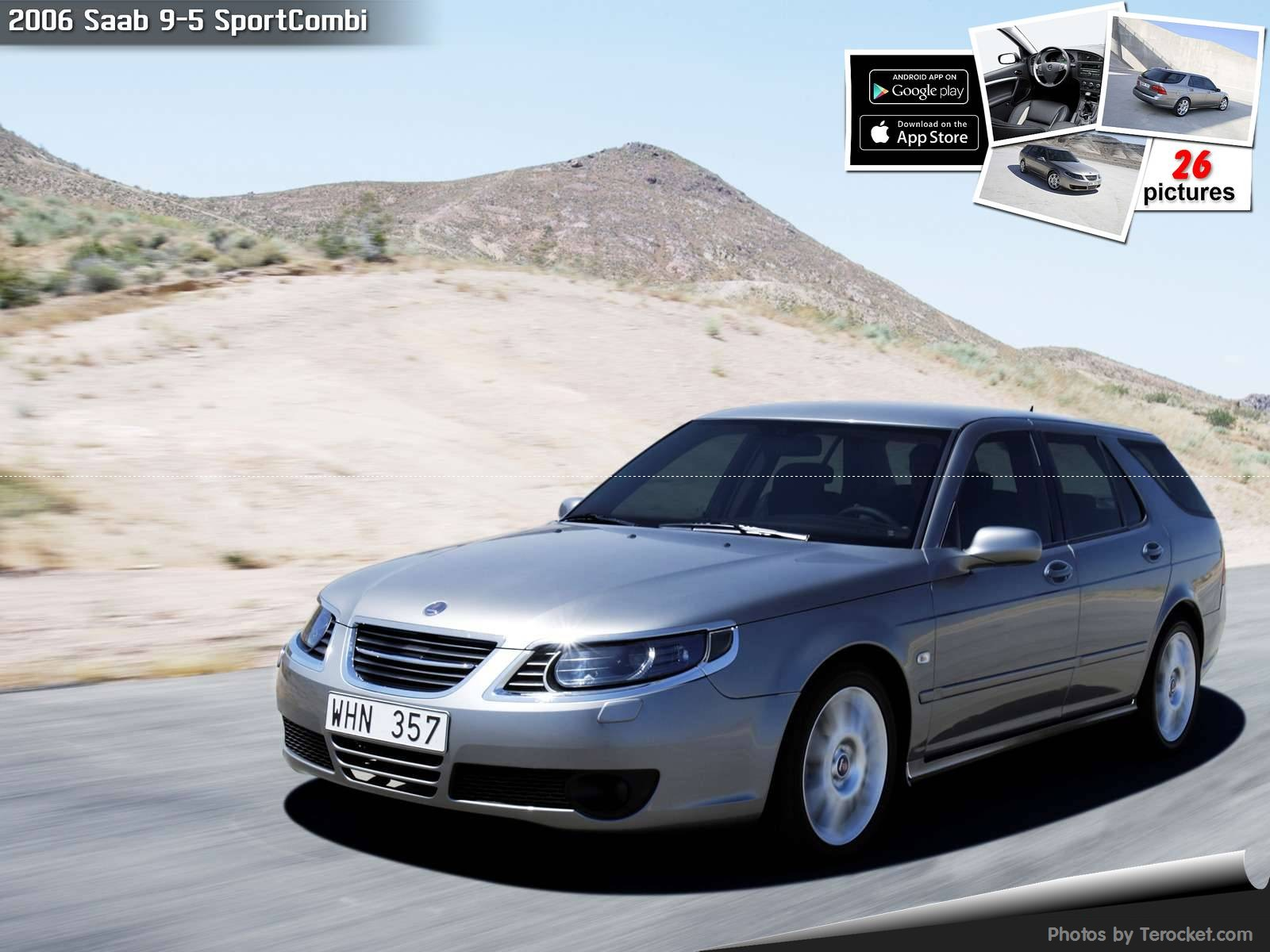 Hình ảnh xe ô tô Saab 9-5 SportCombi 2006 & nội ngoại thất
