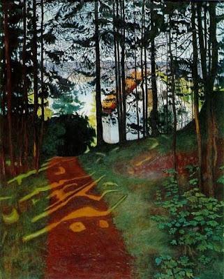 Llampegueig de sol (Harald Sohlberg)