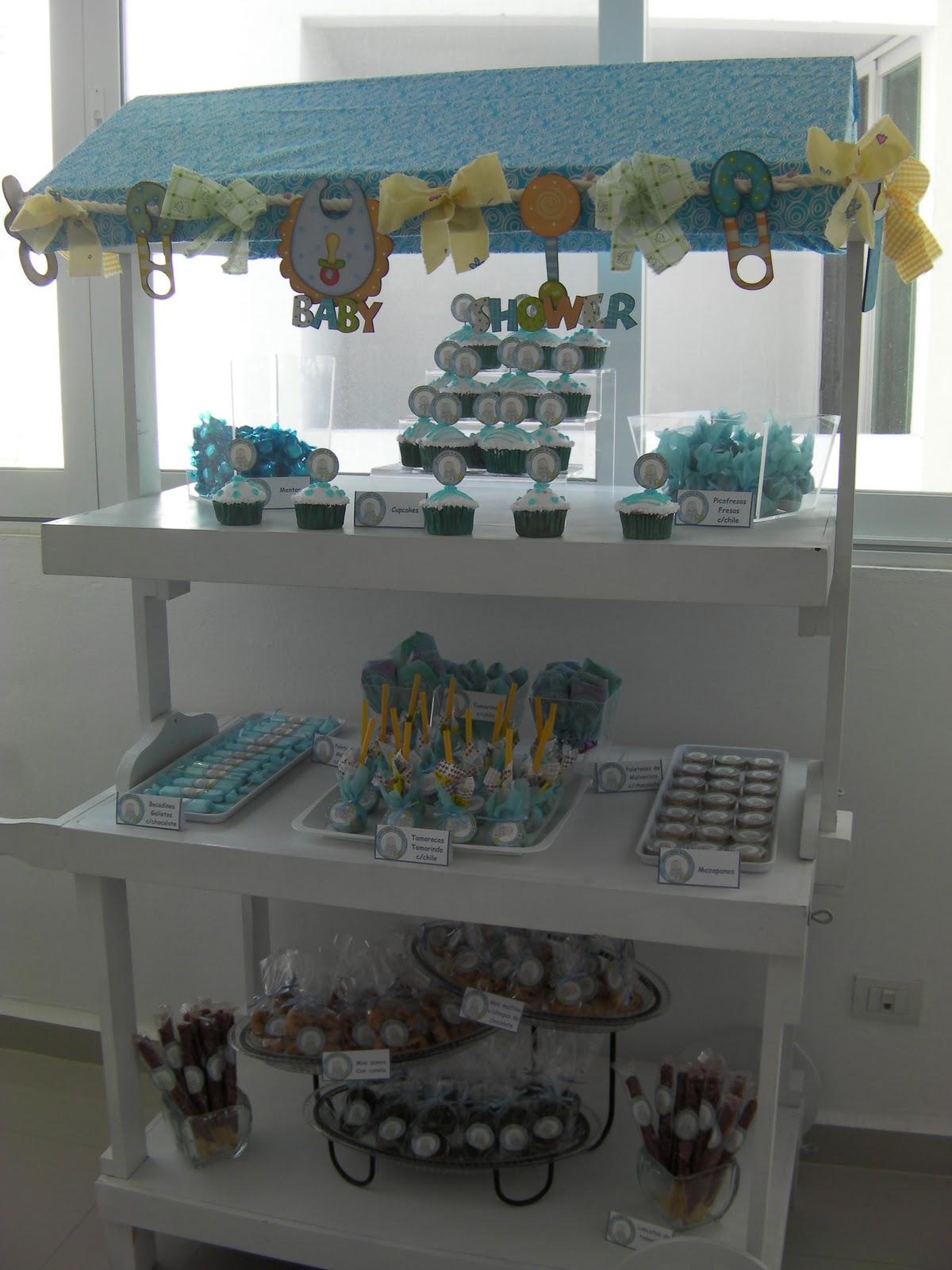 Party Boutique Cancºn Carrito de postres y dulces para Baby
