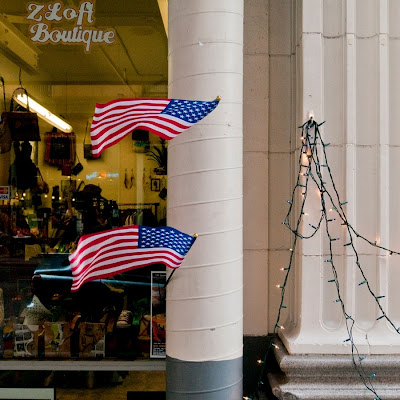 Flags, 4th of July, Downtown Los Angeles (C) Glenn Primm Photography