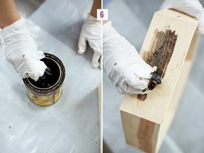 sơn kệ gỗ hình tổ ong