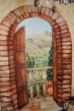 """Room with a View""-Trompe l""oeil"