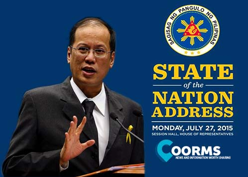 Take part and watch PNoy's 6th and final sona 2015 live online