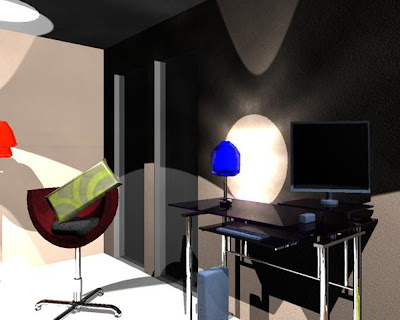 Natali Topliff - Render of Office