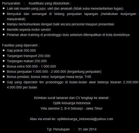 lowongan-kerja-probolinggo-jawa-timur-terbaru-januari-2014
