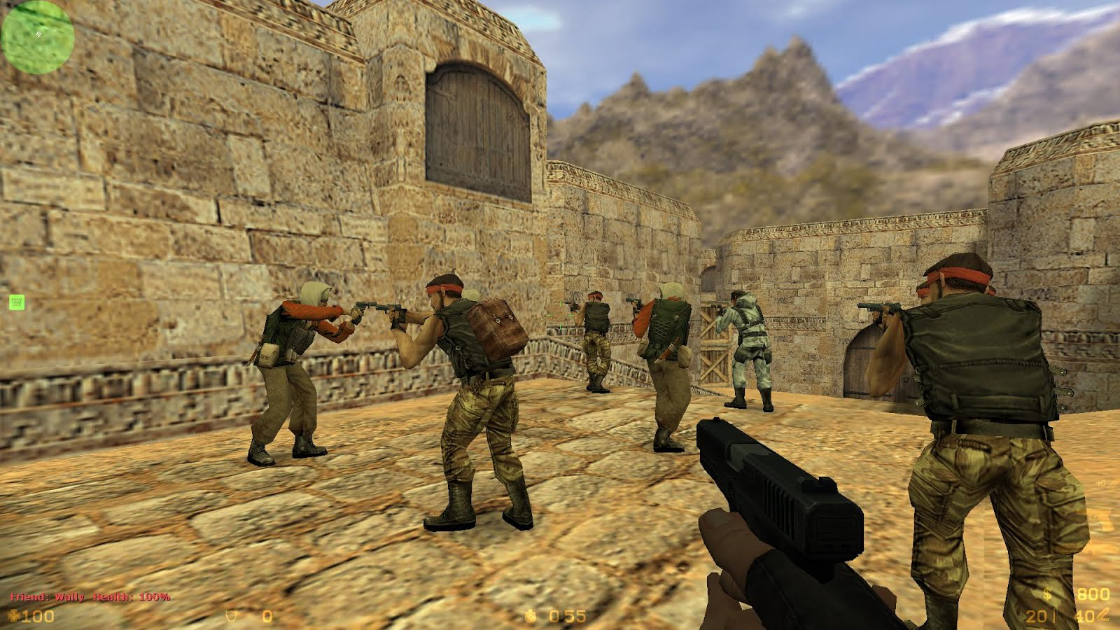 Mata Bayangan: Cheat Counter Strike 1.6
