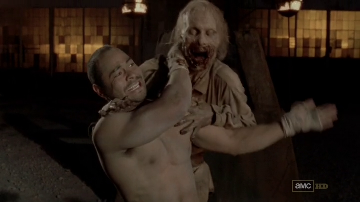 La arena en The Walking Dead 3x05