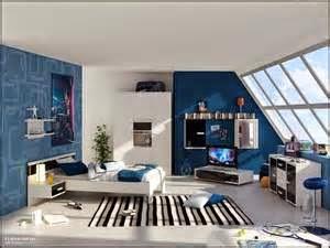 gambar desain kamar anak laki-laki simpel