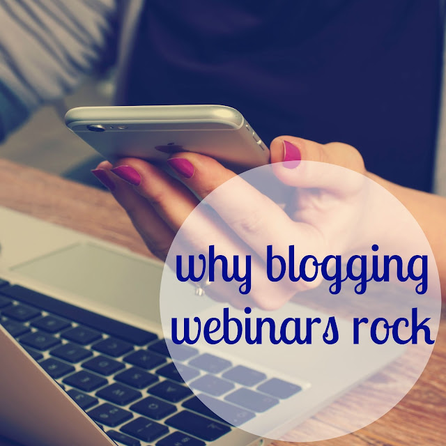 3 reasons every blogger and creative needs to participate in webinars
