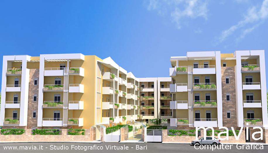 Esterni 3d rendering 3d architettura 3d rendering esterno for Software di progettazione di edifici domestici