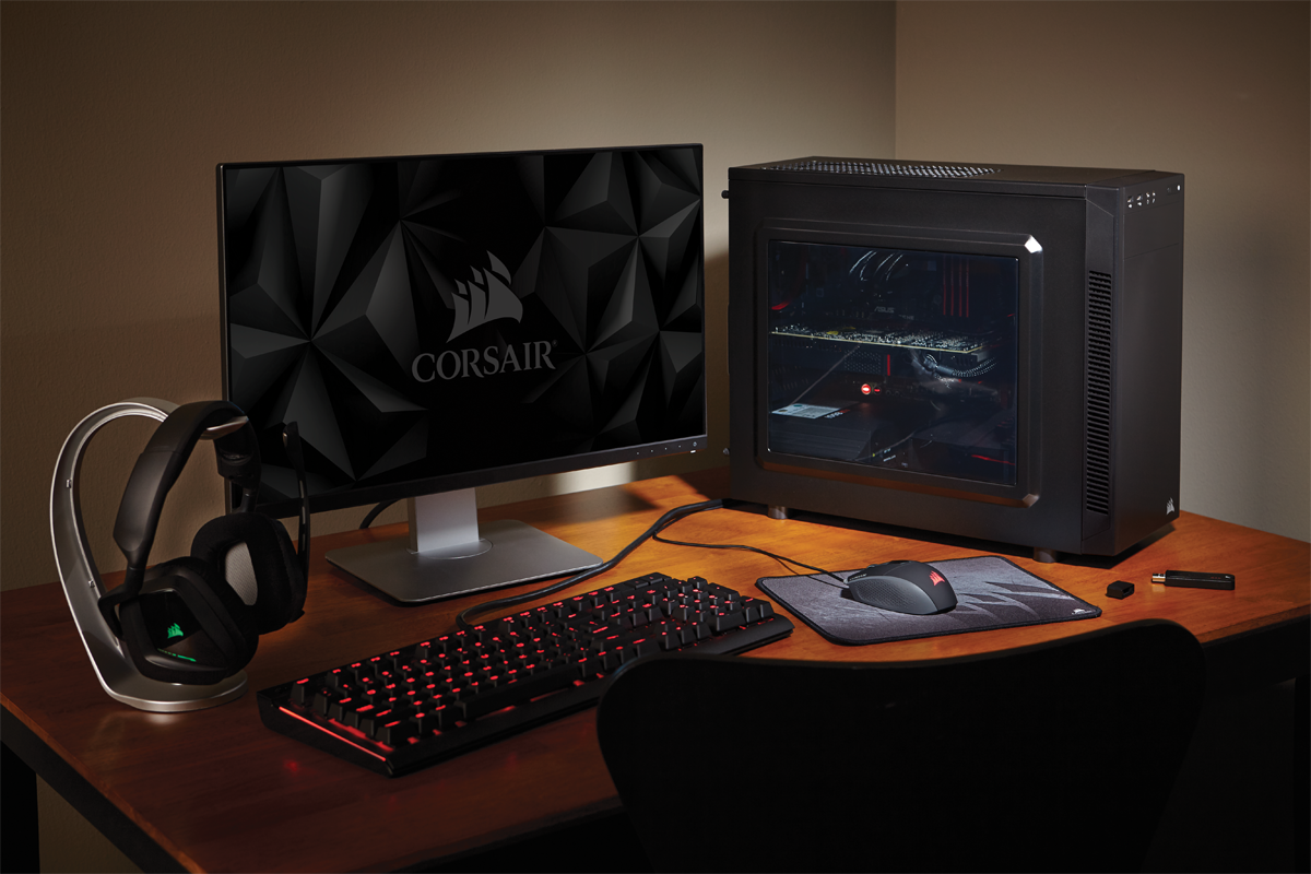 corsair gaming pc case