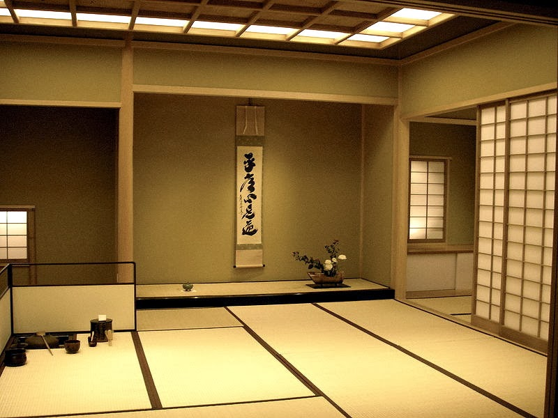 Traditional japanese tea table - Memories Of Japan The Tea Ceremony Tokonoma Hanging Scrolls And