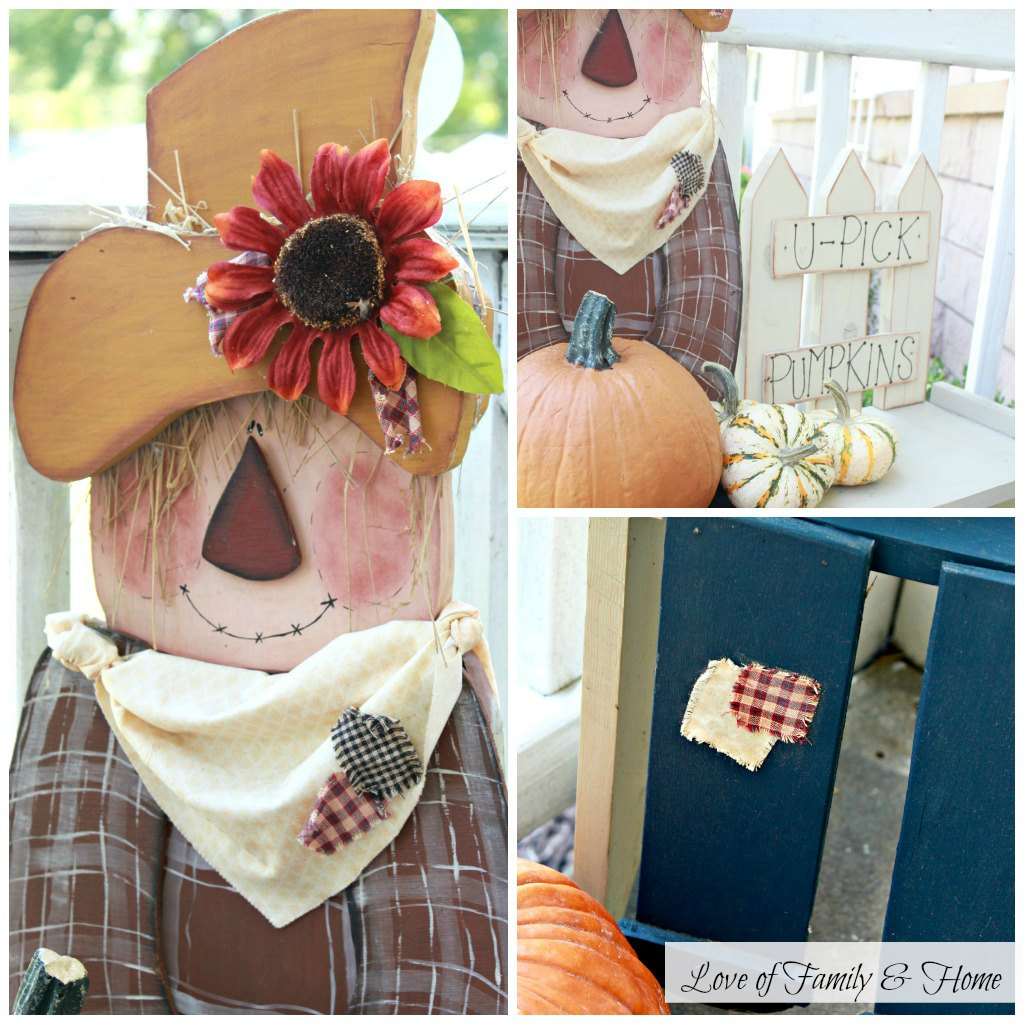Front Porch Decorated For Fall Love Of Family Home