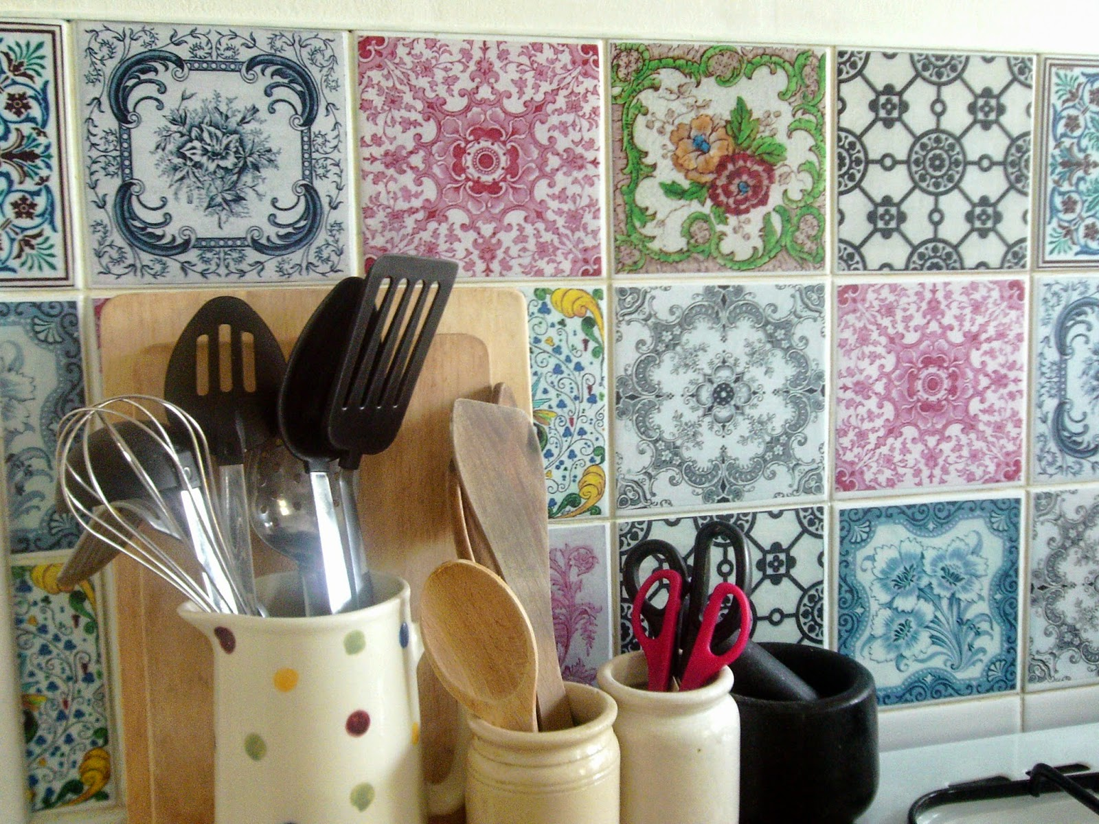 Kitchen Tiles Handmade jiggle ma wiggle & the thrifty blog: handmade victorian style