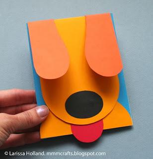 Κάρτα σκυλάκι -DIY με εύκολο tutorial