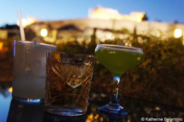 Acropolis Point Cocktails at Herodion Hotel Athens Rooftop Bars