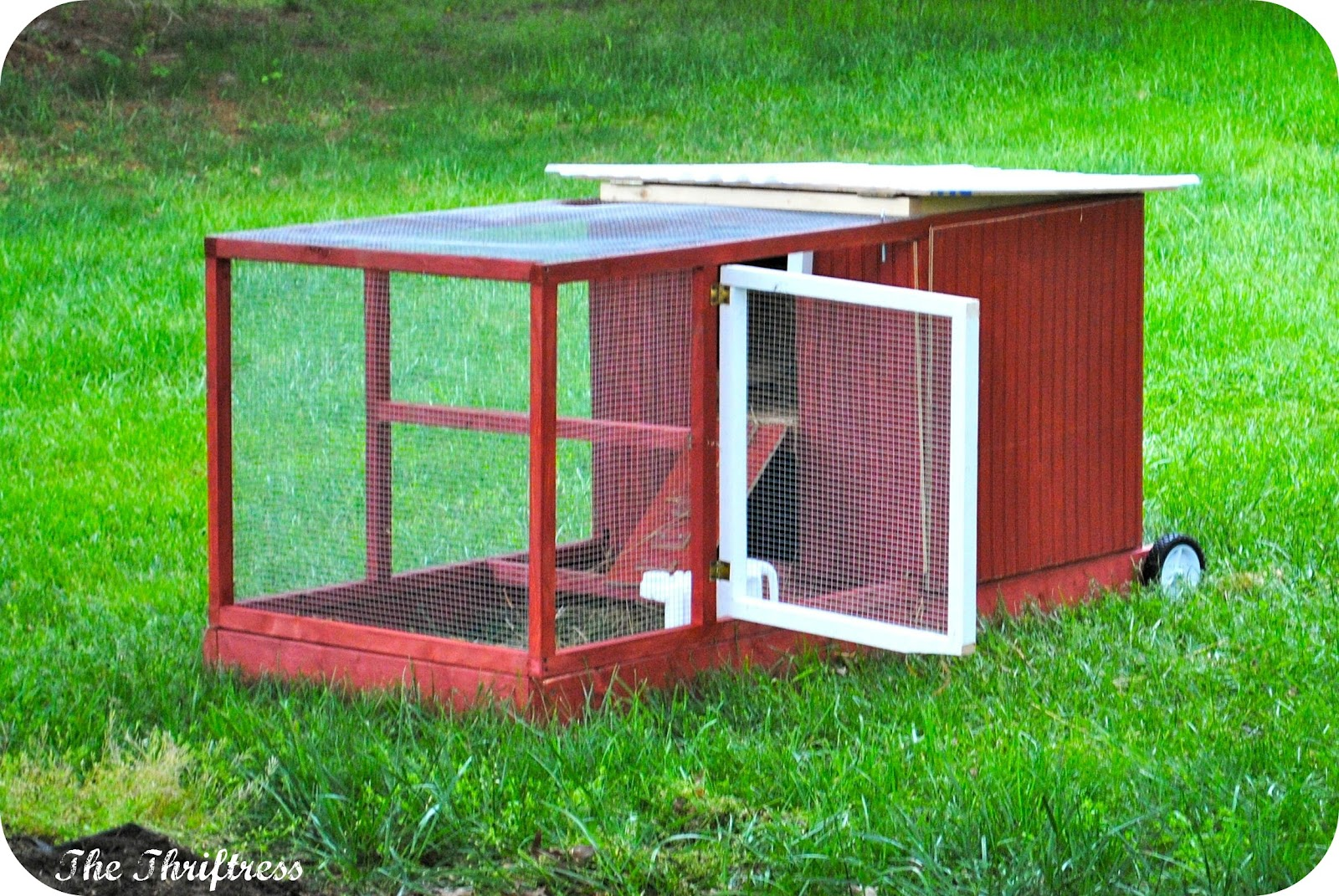 Nadek build chicken coop wood pallets Chicken coop from pallet wood