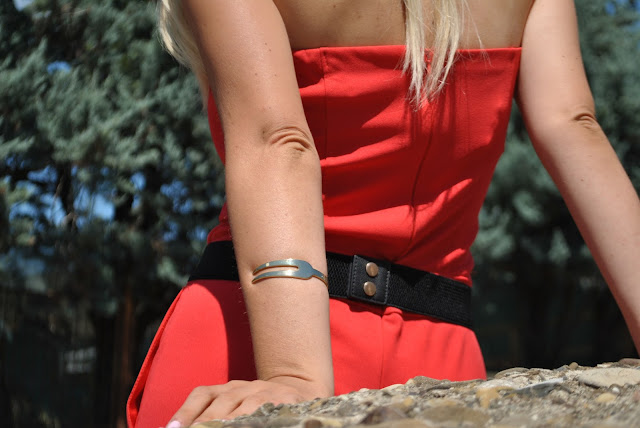 bracciale la forketta bracciale a forma di forchetta bracciale gold la forketta bracciali estivi bracciali estate 2015 summer bracelets mariafelicia magno fashion blogger color block by felym fashion blog italiani fashion blogger italiane blog di moda blogger italiane di moda blog di moda ragazze bionde blogger bionde fashion blogger milano