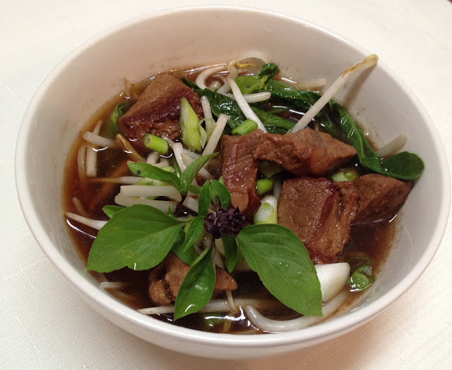Thai Beef Noodle Soup | Swirl of Cinnamon