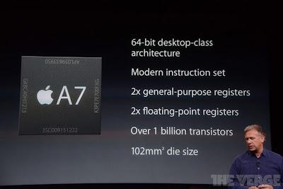 procesador A7 64 bit especificaciones