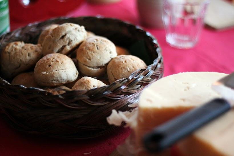 julscones, scones med julsmak