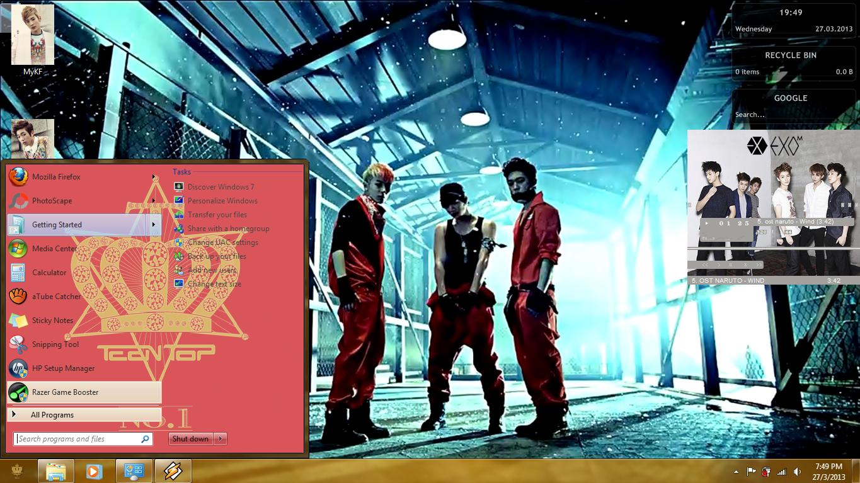 Google theme kpop exo - I M