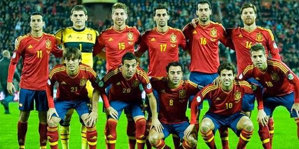 Skuad Timnas Spanyol di Piala Dunia Brazil 2014