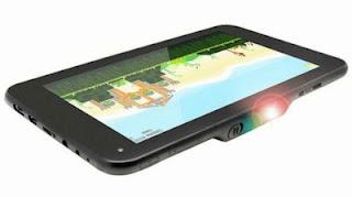 Promate LumiTab, Tablet PC Android 4.2 Jelly Bean Dengan Keunggulan Proyektor
