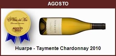 Agosto - Huarpe - Taymente Chardonnay 2010