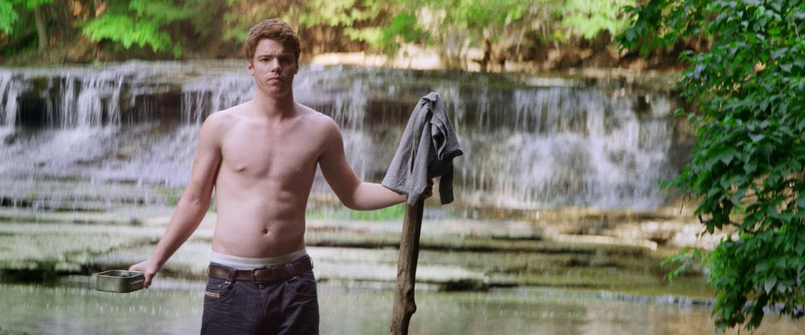 The Stars Come Out To Play: Gabriel Basso - Shirtless