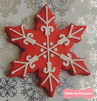 Galleta Copo de Nieve