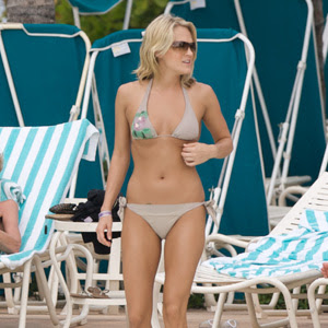 Country music women in bikini