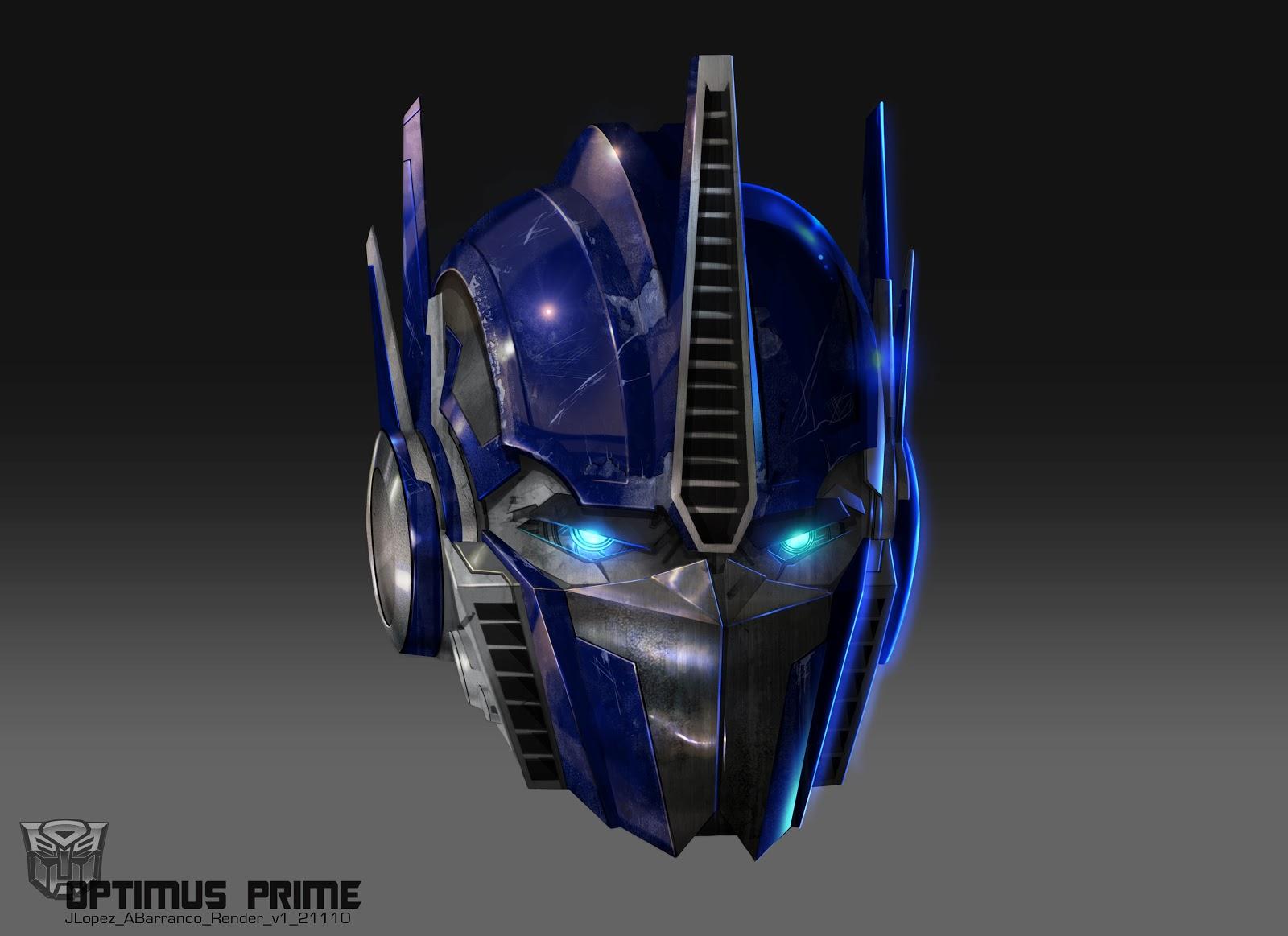 Optimus Prime for Transformers: Prime Color: Augusto Barranco Copyright and TM Hasbro Studios