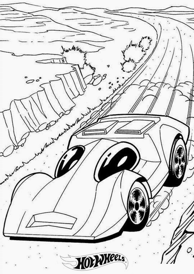 Hot Wheels Coloring Pages 8