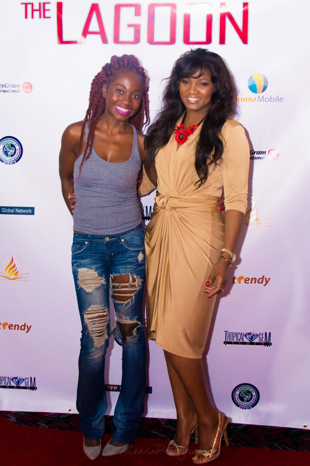starring Omotola Jalade-Ekeinde  Photos of event now available hereOmotola Jalade Ekeinde 2014