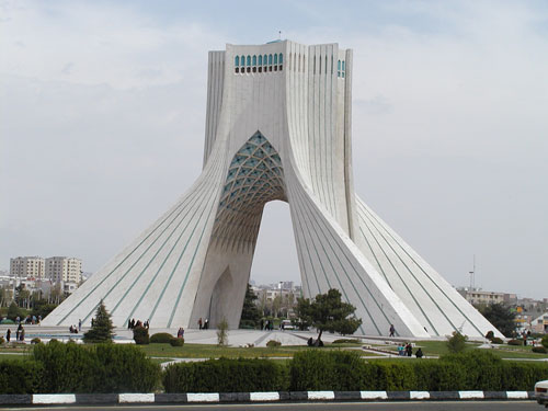 Famous buildings of the world azadi tower tehran iran for Important buildings in the world