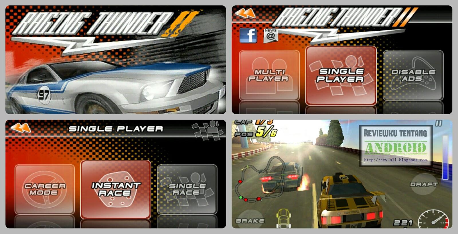 Tampilan Raging Thunder 2 - Permainan balap mobil ringan dan seru dapat multiplayer online (rev-all.blogspot.com)