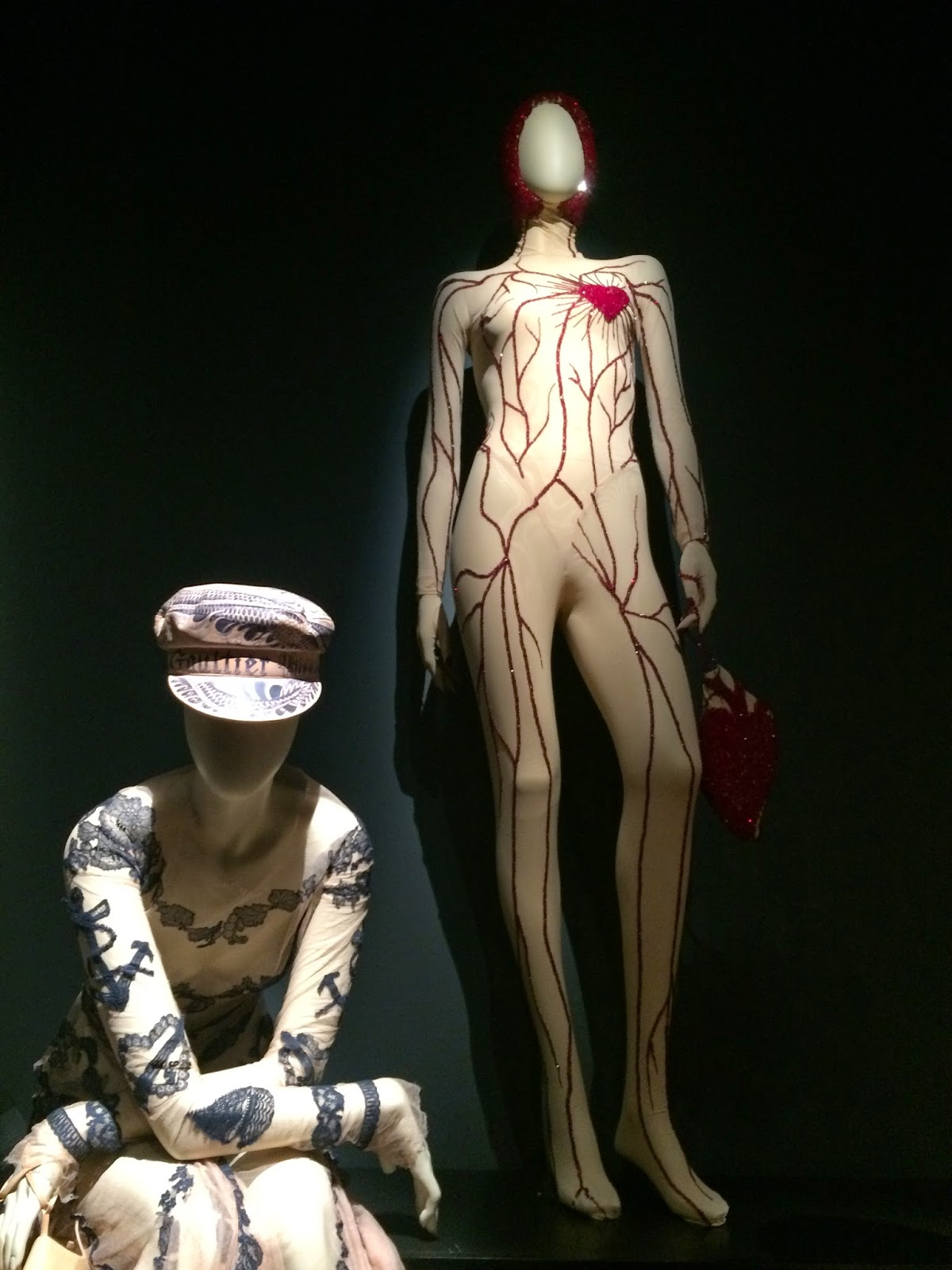 Jean Paul Gaultier body suit, Le Grand Palais, Paris