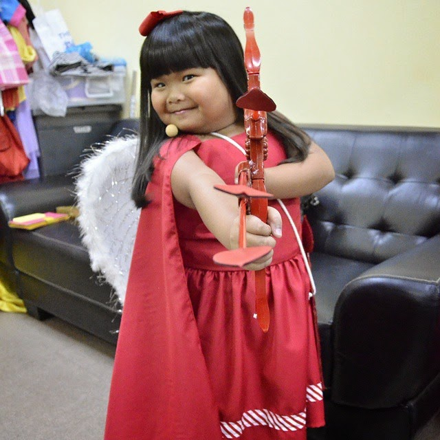 Cupid inspired! Hit our hearts Ryzza!