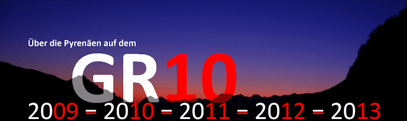 Über die Pyrenäen auf dem GR10